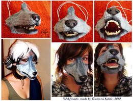 Wolf-mask by Idolum