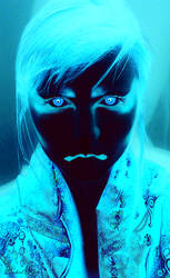 Blue Yokai by Idolum