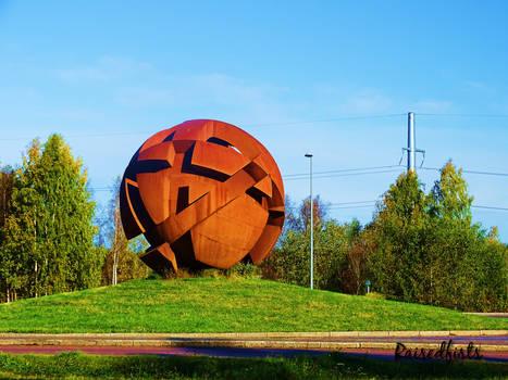 Rusty sphere