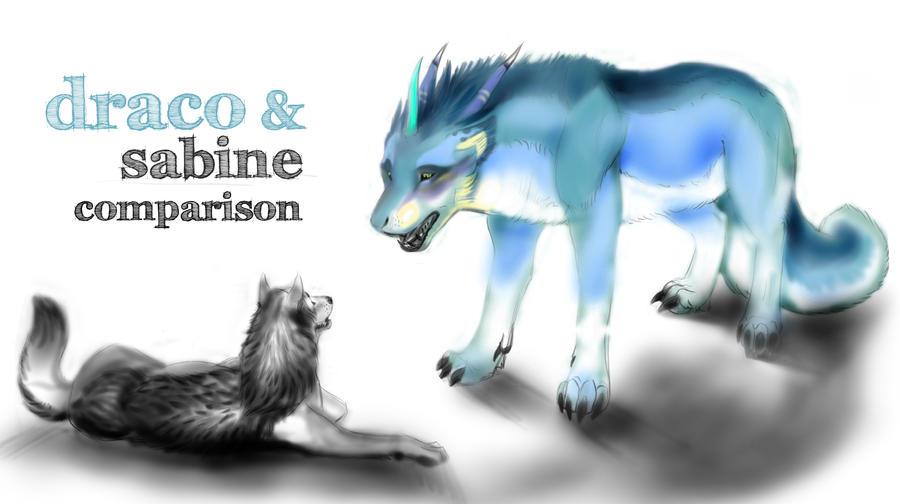 a dracowolf by shadwlf910