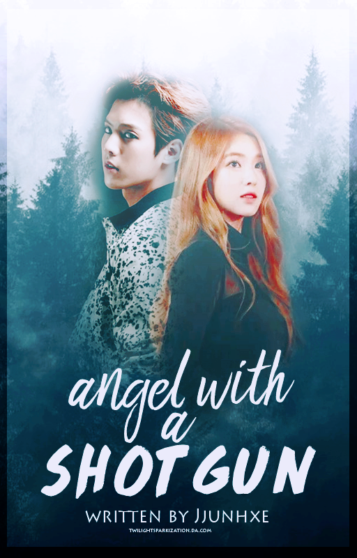 Angel With A Shotgun || Wattpad Book Cover by twilightsparkization