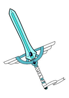 Touko Suzuki's sword