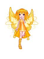Orange Fairy-Izebelle by Ellyon