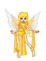 Yellow Fairy-Asagi by Ellyon