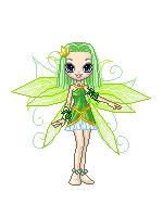 Green Fairy-Charisma by Ellyon