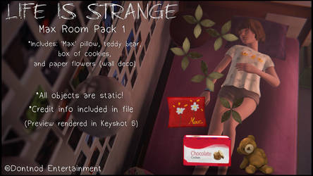 LiS - Max Room Pack 1 by angelic-noir