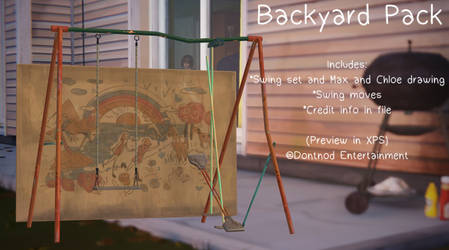 LiS - Chloe's Backyard Pack by angelic-noir