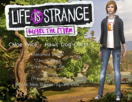 Before The Storm - Chloe Price Hawt Dog Outfit
