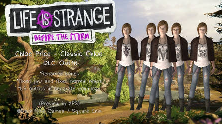 Before The Storm - Chloe Price 'Classic' DLC