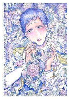 Yuzuru!!! (watercolor too)
