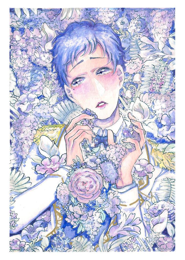Yuzuru!!! (watercolor too) by lyoxsiis