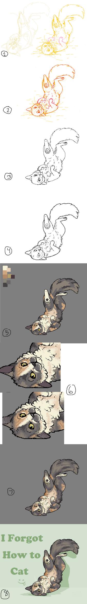 I Forgot How to Cat WALKTHROUGH by Blubird101