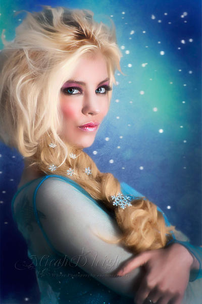 Elsa by MLeighS-DigitalArt