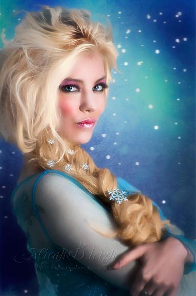 Elsa by MLeighS-DigitalArt