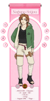 [HSV] Seijou Nagano Profile by Taminki