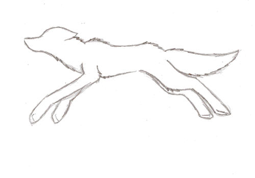 Animated wolf pencil by xxeternitysangelxx on deviantart
