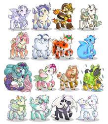 Goatlings! by Kris-Goat