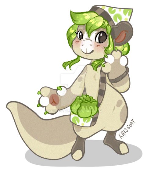 Cabbage Gift Art by Kris-Goat