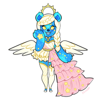 Galaxy - Ursamode Mascot by Kris-Goat