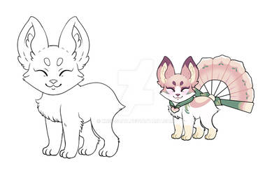 OPEN | Fox, Cat, or simular Pagedoll YCH