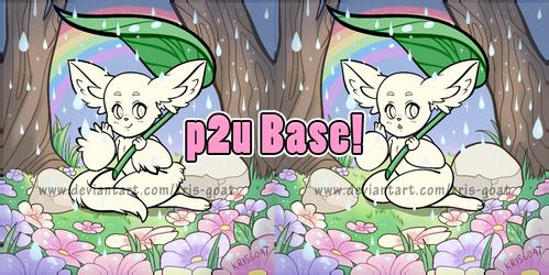 P2U Folklore base- Spring Showers!