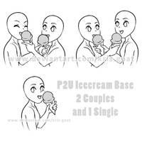 P2U Icecream Base Couples