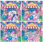 Visitors at the Konpeito Cotton Candy Booth v2 by Kris-Goat