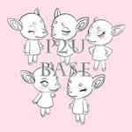 Animal Crossing Deer P2U Base!