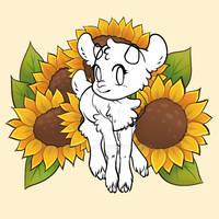 p2u Base - Sunflower Goatling or Feral Dainty