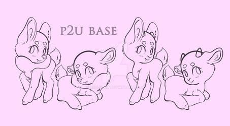 p2u Feral Dainty and Goatling base