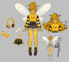 OTA Bee Girl - Open