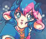 Sailor Moon screenshot redraw challenge! by Kris-Goat