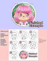 YCH Animal Crossing Style Custom Portrait Open