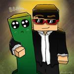 CptSparklez, Minecraft Fan Art