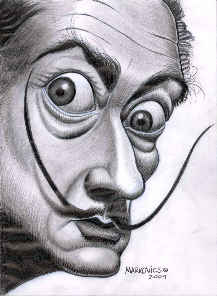 Salvador Dali by Markovics