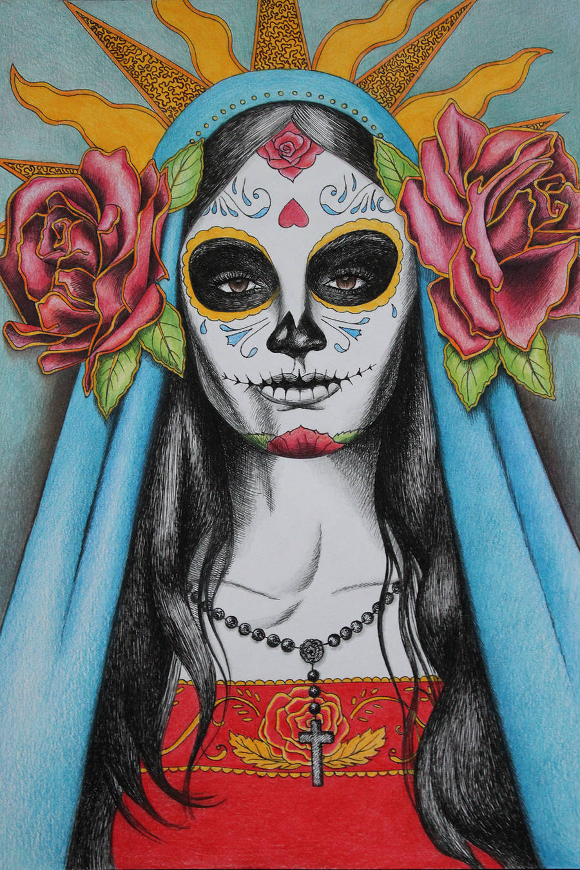 Santa Muerte by LittleBird16