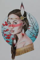 New Pokahontas by LittleBird16