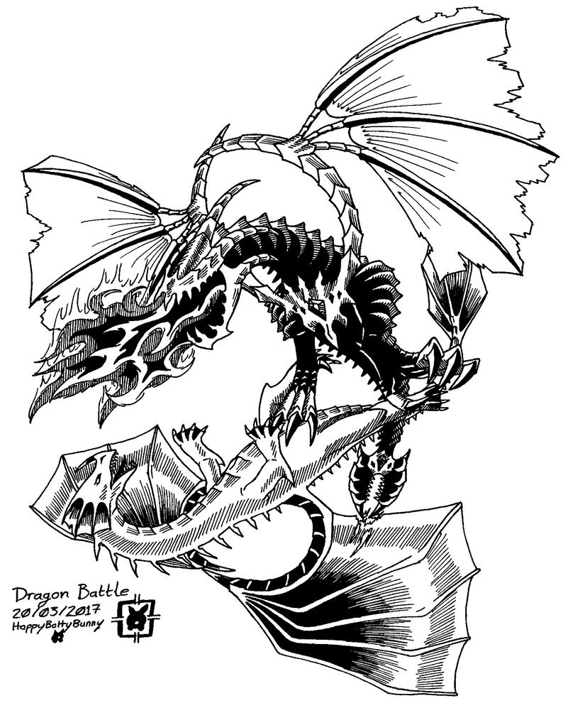 Dragon Battle [Bl17 V1] by HappyBottyBunny