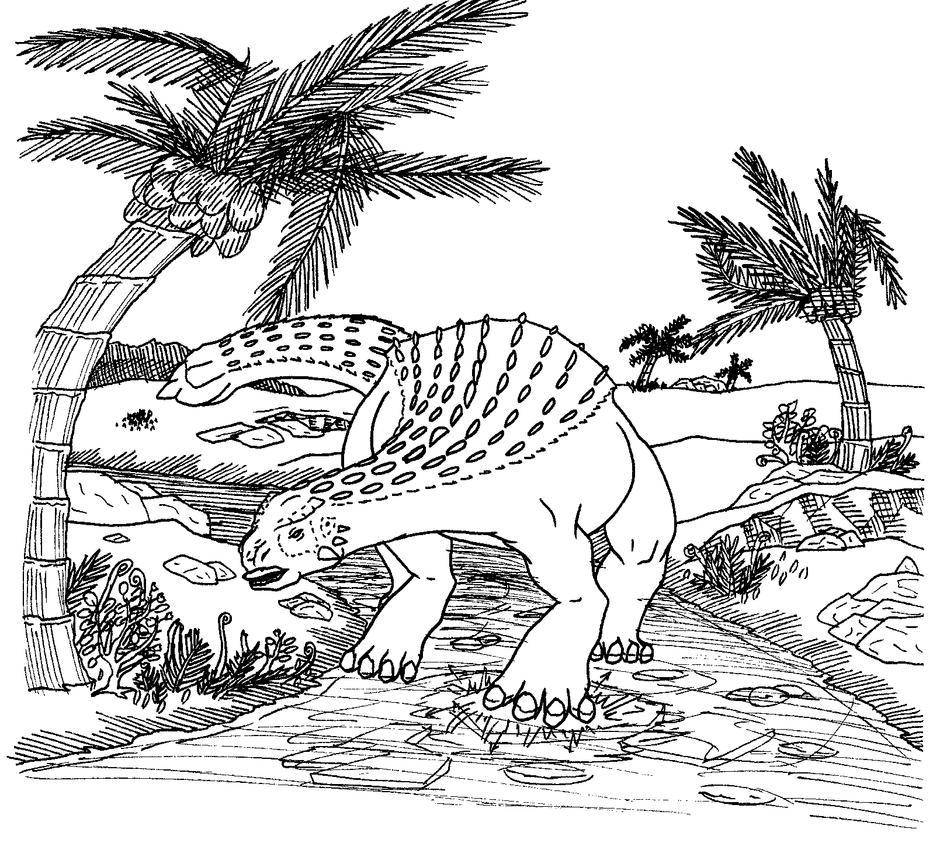 Dinosaur [Spare 2014 002] by HappyBottyBunny