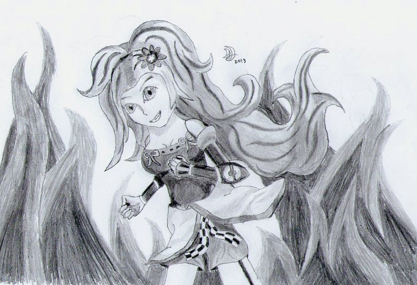 Kai: Lady of Ferocity by AdorableDynamite
