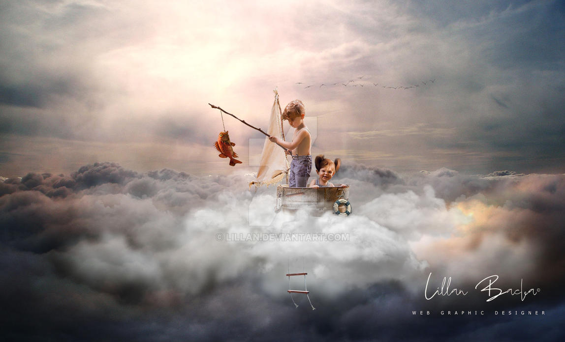 Above The Clouds by lillan
