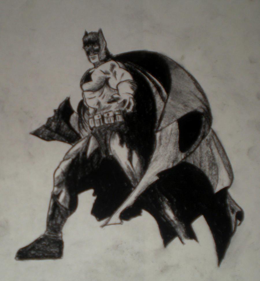 Charcoal Batman By Brandonbcrw10 On DeviantArt