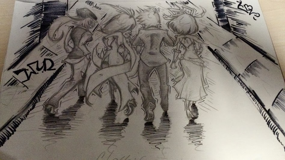 2014 sketchie by LazeeGai