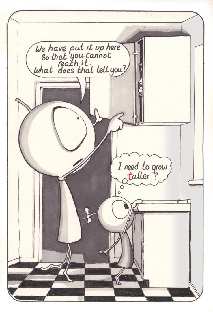 Taller by LaraBubblegirl