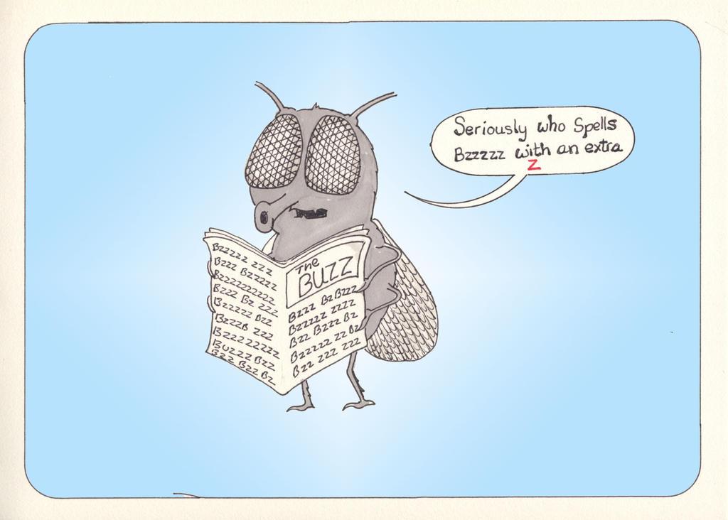 Fly Paper by LaraBubblegirl