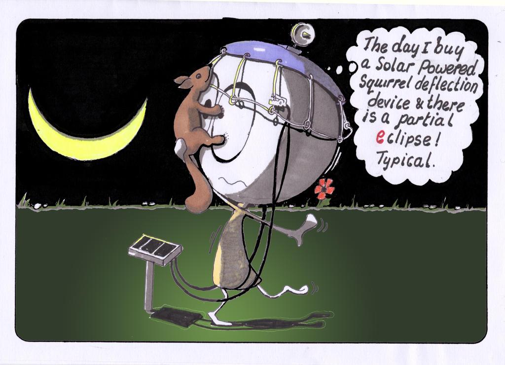 Impartial Eclipse by LaraBubblegirl