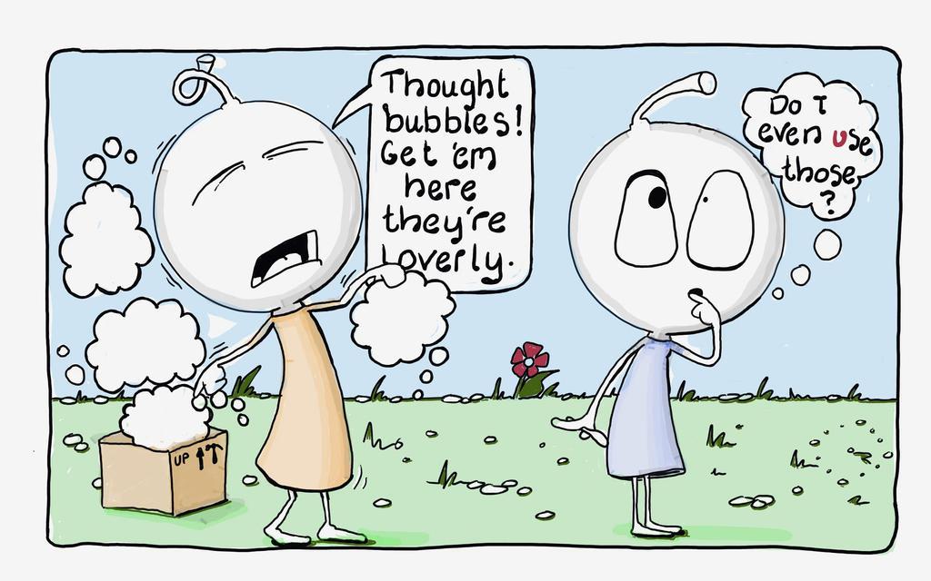 think by LaraBubblegirl