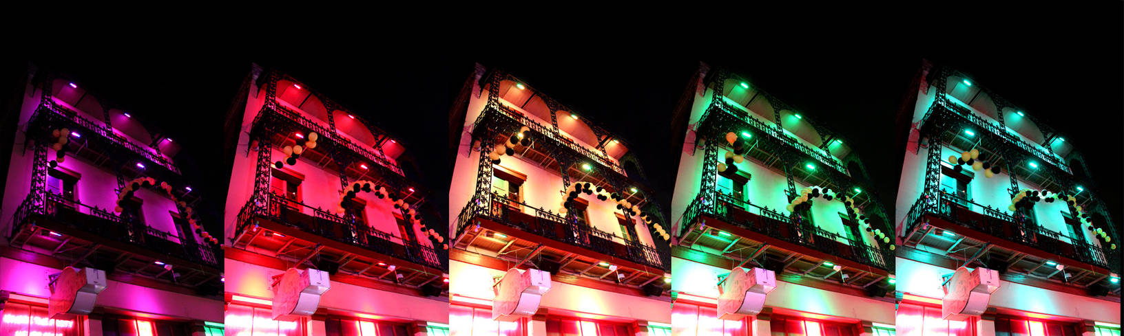 A New Orleans Light Show (Sequential)