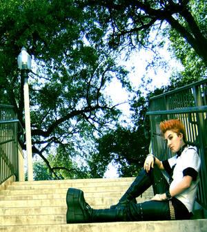 Arashi's rocking that hawk.
