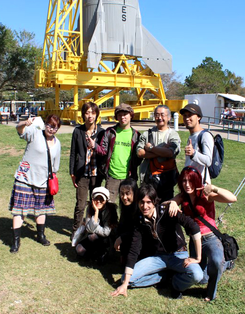 A Day at NASA with Noubuo Uematsu+The Black Mages! by four-leaf-charm